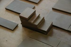 Plaques d'argile